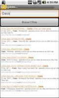 Screenshot of Cifroid Tabs