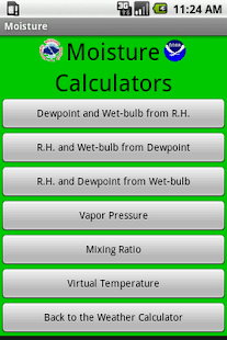 Weather Calculator- screenshot thumbnail