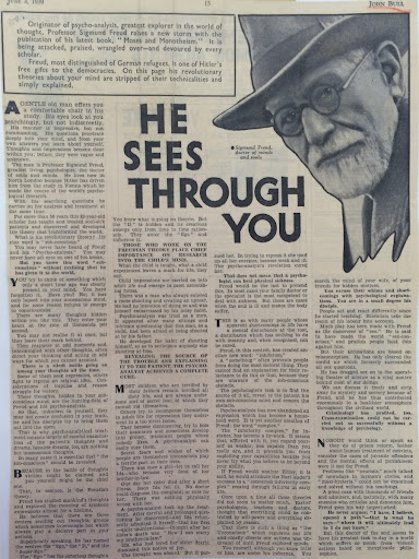 the life and works of sigmund freud the father of psychoanalysis Sigmund freud – who lived by the psychoanalytic theory that sexual desire   turn of the 20th century when the father of psychoanalysis discovered jung   although he was a practising clinician, much of his life's work was.