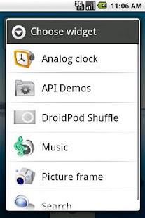 DroidPod Shuffle Silver- screenshot thumbnail