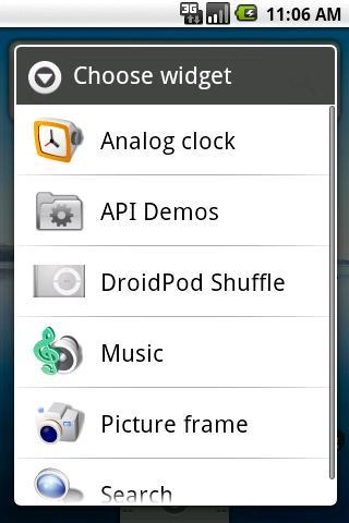 DroidPod Shuffle Silver - screenshot