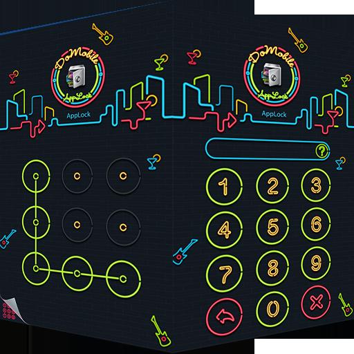AppLock Theme Nightclub 工具 App LOGO-硬是要APP