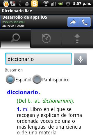 Rae Diccionario