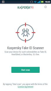 Kaspersky Fake ID Scanner