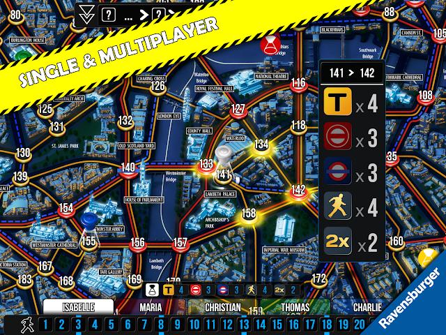 android Scotland Yard Screenshot 1