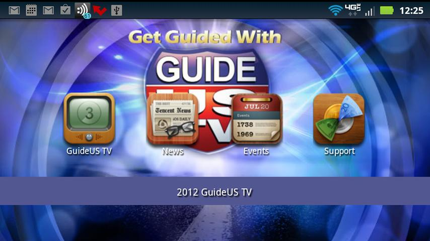 GuideUS TV- screenshot