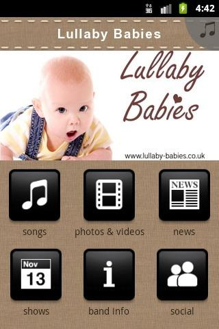 Free Lullabies For Babies - screenshot