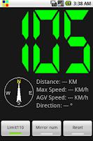 Screenshot of SpeedHUD