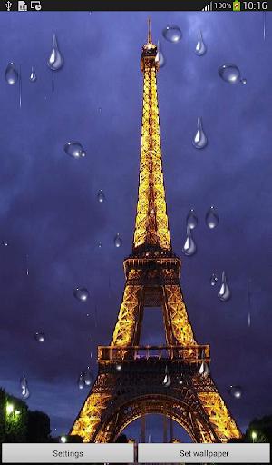 Rainy Night Live Wallpaper
