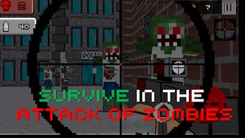 Screenshot of Pixel Sniper Zombie Apocalypse