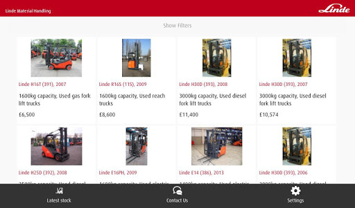 【免費商業App】LindeMH UK Used and Rental-APP點子