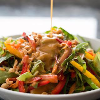 Thai Peanut Ginger Chopped Salad