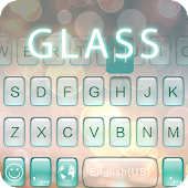 Glass Theme for ikeyboard