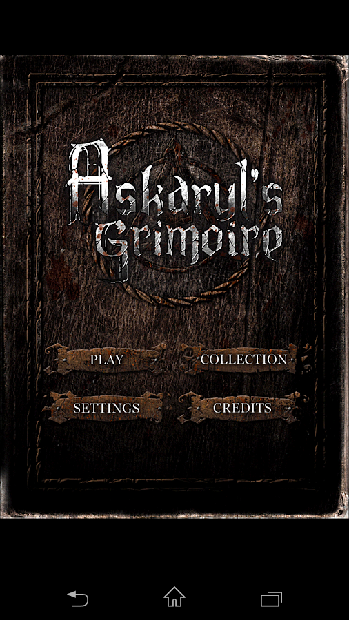 Hamnasya - Askaryl's Grimoire- screenshot