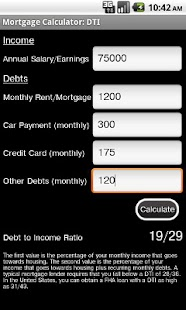 Mortgage Calculator Free - screenshot thumbnail