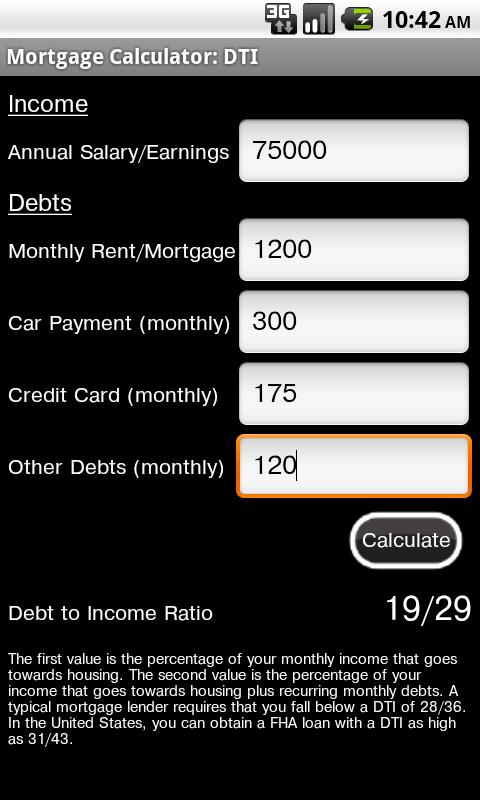 Mortgage Calculator Free - screenshot
