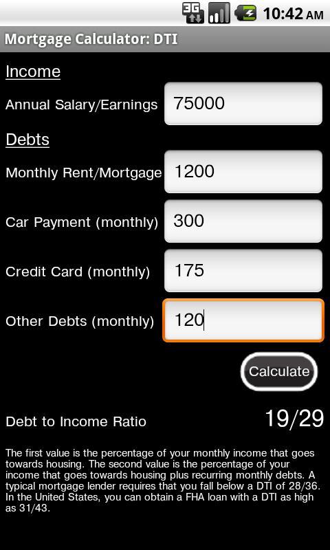 Mortgage Calculator Free- screenshot