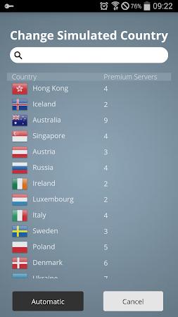 CyberGhost - Free VPN & Proxy 5.0.16.10 screenshot 115934