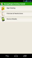 Screenshot of ManageEngine MDM - Samsung v1