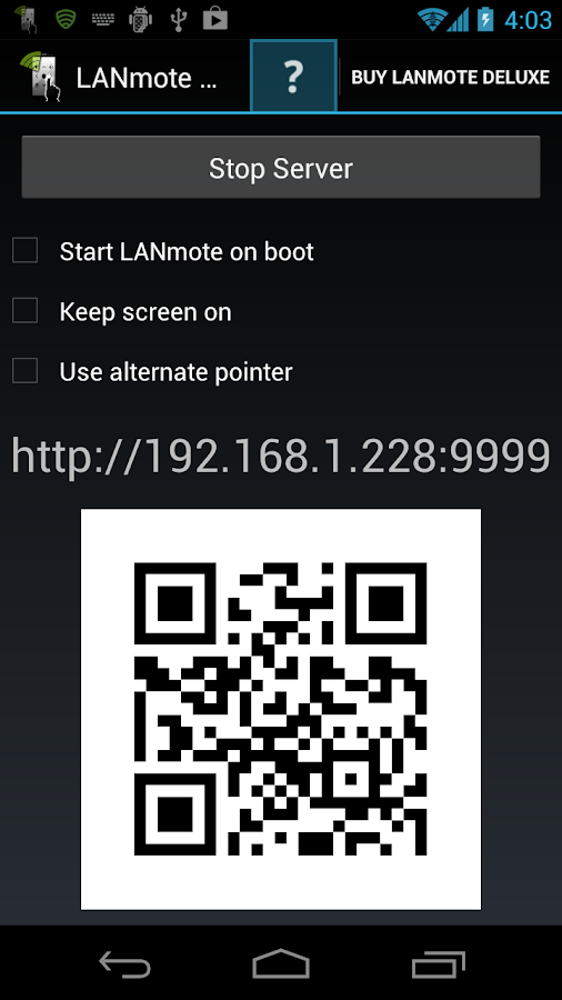 LANmote Lite - screenshot