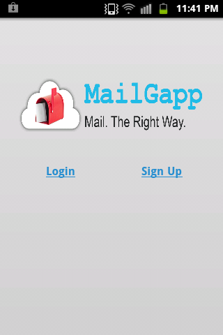 MailGapp - screenshot