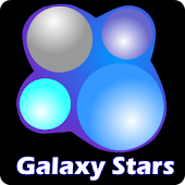 Galaxy Stars One Touch drawing