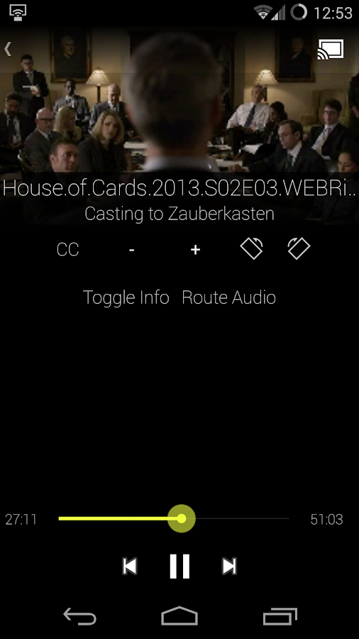 LocalCast Media 2 Chromecast - screenshot