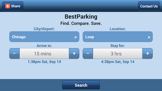 Best Parking - Find Parking - screenshot thumbnail