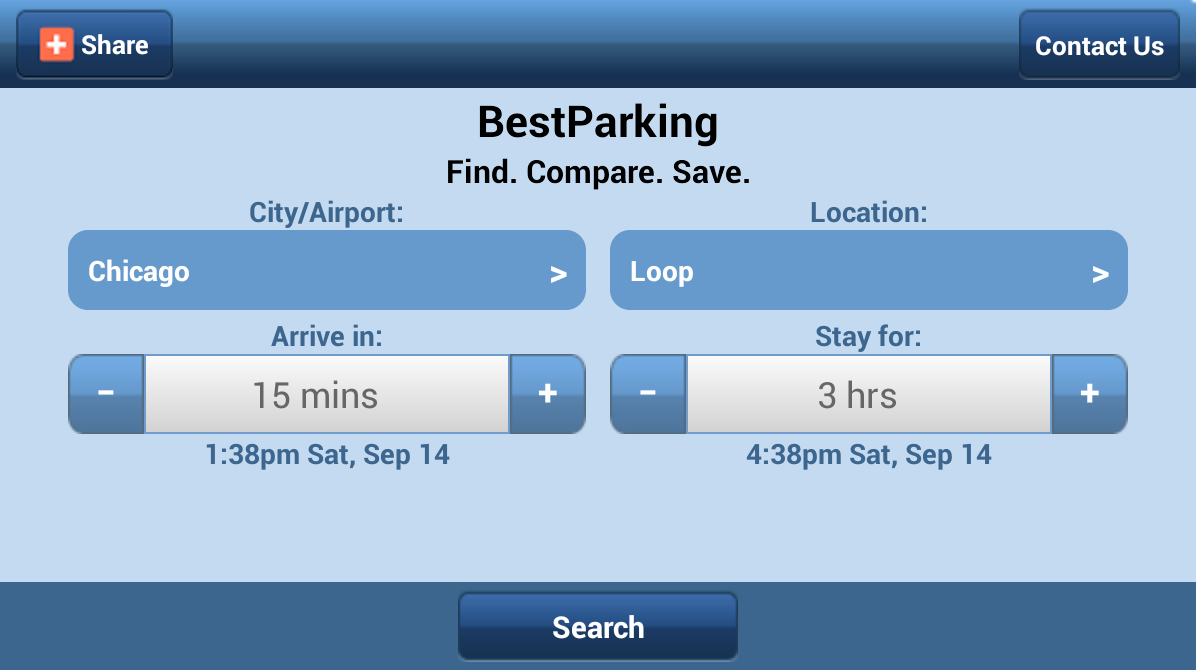 Best Parking - Find Parking - screenshot