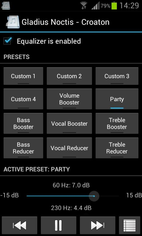 Music Folder Player Full - screenshot