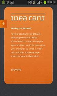 IDEA CARD™ - screenshot thumbnail