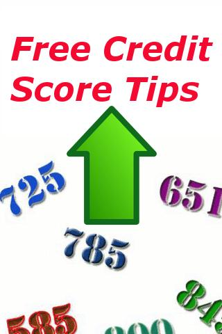 Free Credit Score Tips - screenshot