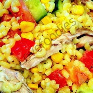 Honey Mustard Chicken Pasta Salad.