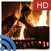 Fireplace & Candles Chromecast