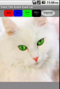 Paint The Green Eyed Cat
