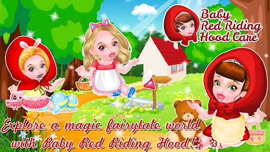 Baby Red Riding Hood Care- screenshot thumbnail