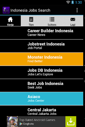 Indonesia Job Search