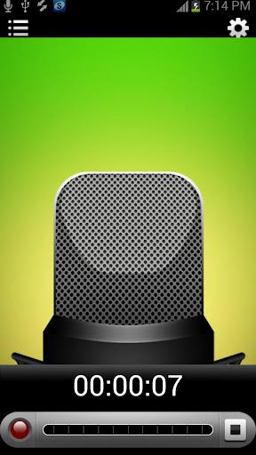 eRecorder:語音備忘錄記錄