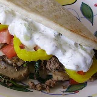 Scyros (Pita Sandwich).