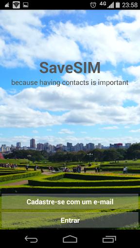 SaveSIM - 电话簿