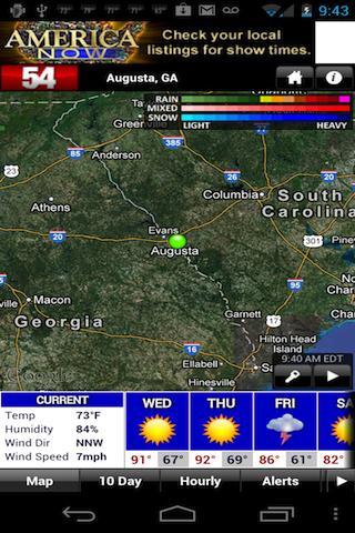 WFXG First Alert Weather - screenshot