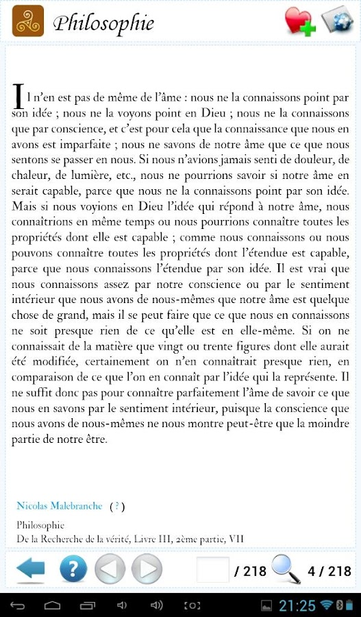 Philosophie & Sagesse du Monde- screenshot