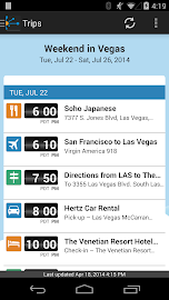 TripIt: Trip Planner (No Ads) Screenshot 3