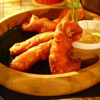 Chicken Breast Chile Tempura with Sambal Aioli