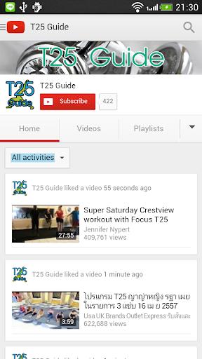 T25 Guide