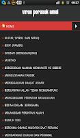 Screenshot of 20 Perkara Perusak Amal