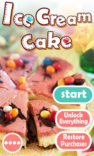 Ice Cream Cake-Cooking games