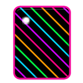 KB SKIN - Neon Rainbow