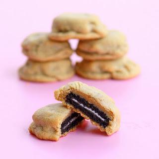 Oreo Stuffed Peanut Butter Cookies.