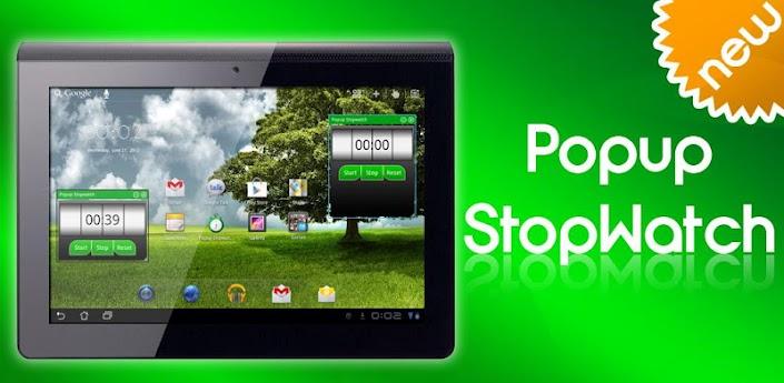 Popup Stopwatch